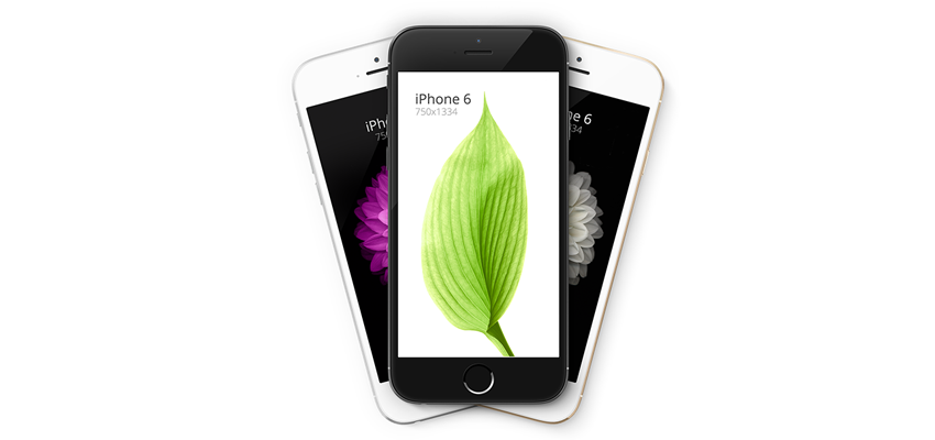 iPhone 6 - Mockups Escalables 4.7